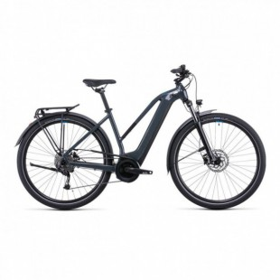 Vélo Electrique Cube Town Sport Hybrid One 500 Easy Entry Iridium/Gris 2021