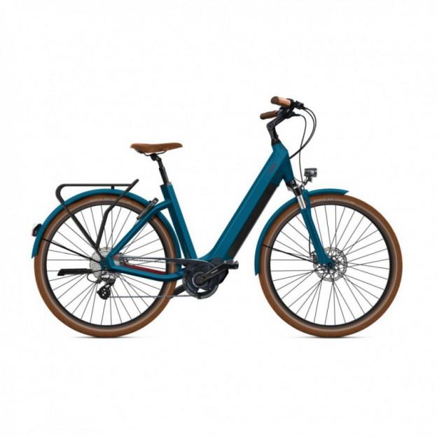 Vélo Electrique Cube Town Sport Hybrid One 400 Easy Entry Iridium/Gris 2021