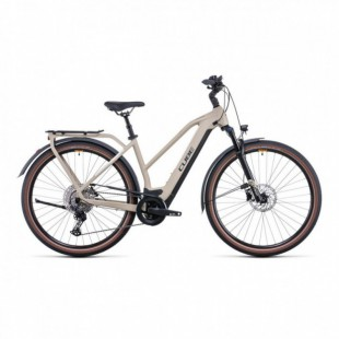 Vélo Electrique Cube Town Sport Hybrid One 400 Easy Entry Iridium/Gris 2021