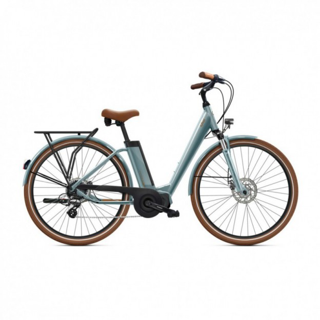 Vélo Electrique Victoria eTrekking 6.3 400 Easy Entry Gris Mat 2021