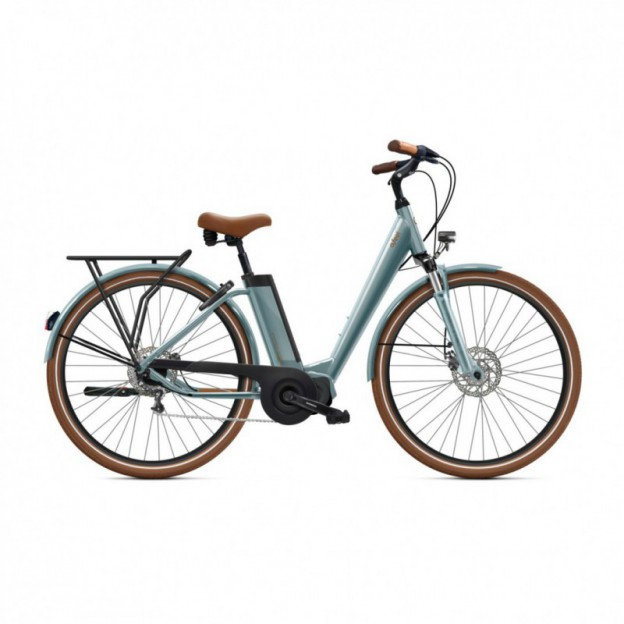 Vélo Electrique Victoria eTrekking 6.5 500 Easy Entry Turquoise Mat 2021
