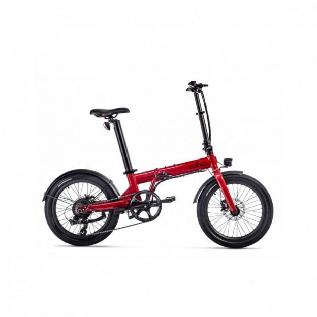 Vélo Electrique Cube Compact Sport Hybrid 500 Bleu/Rouge 2020