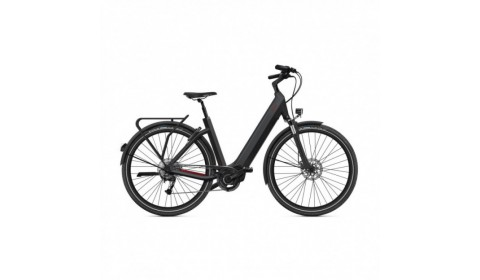 Vélo Electrique Husqvarna Eco City 4  CB Easy Entry Bleu/Blanc 2021