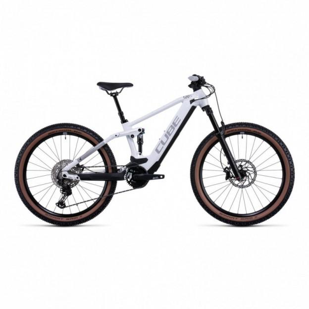 Vélo Electrique Cube Kathmandu Hybrid One 625 Easy Entry Iridium/Teak 2022
