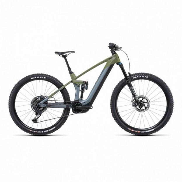 Vélo Electrique Cube Kathmandu Hybrid One 625 Teal/Lime 2022