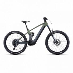 """Vélo Electrique 29"""" Cube Nuride Hybrid Pro Allroad 625 Easy Entry Gris/Bleu 2021"""