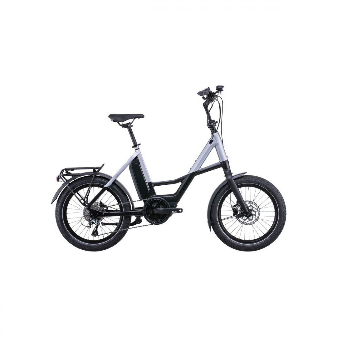 Cube Touring Hybrid EXC 500 Easy Entry Noir/Gris 2018