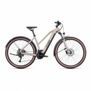 Vélo Electrique Cube Nature Hybrid One 625 Allroad Trapèze Noir/Rouge 2021