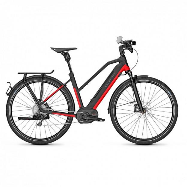Vélo Electrique Kalkhoff Endeavour 7.B Move 625 Trapèze Noir/Vert 2021 (637529095-7)