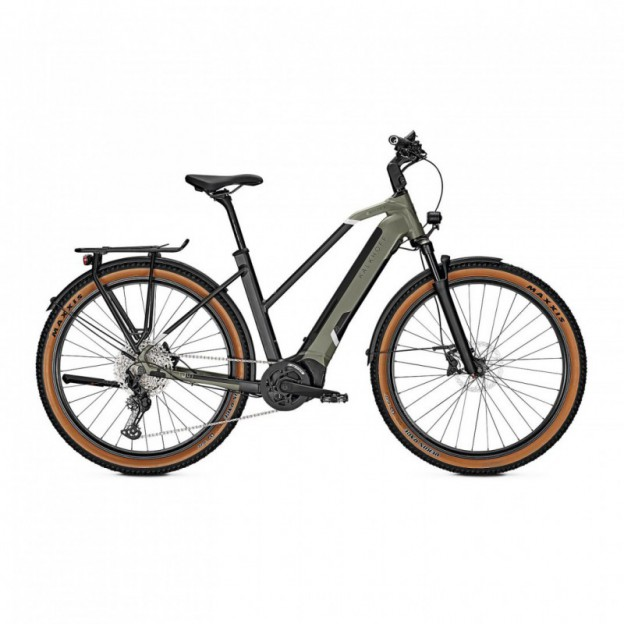 Vélo Electrique Winora Tria 8 400 Easy Entry Gris Clair Brillant 2021