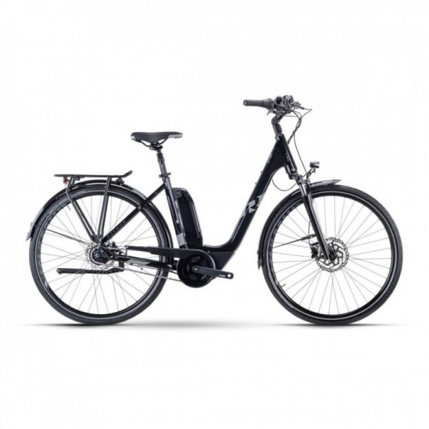 Vélo Electrique Cube Touring Hybrid One 400 Trapèze Gris/Noir 2021