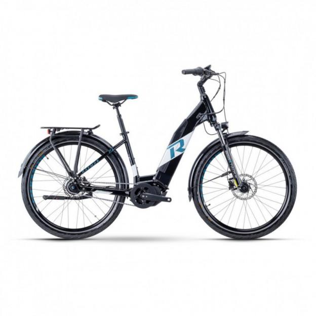 Vélo Electrique Cube Touring Hybrid One 500 Trapèze Gris/Noir 2021