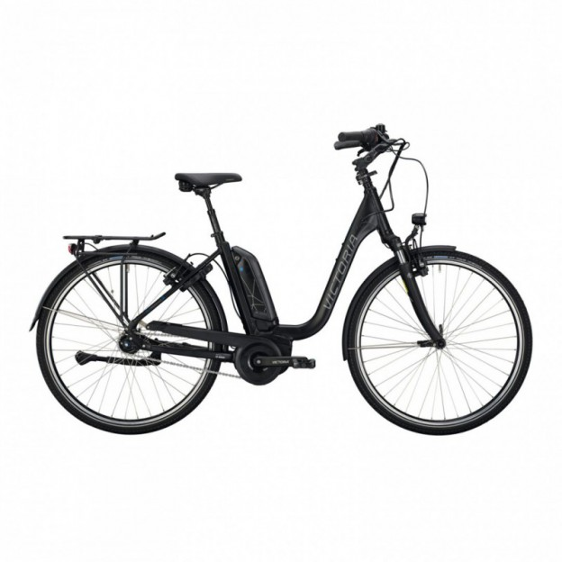Vélo Electrique Cube Kathmandu Hybrid Pro 500 Easy Entry Noir/Bleu 2021