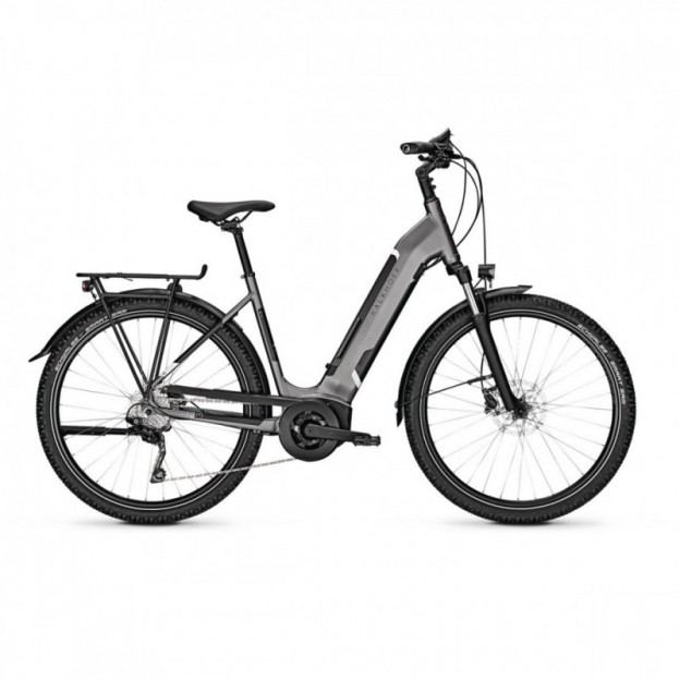 Vélo Electrique Cube Town Sport Hybrid One 500 Easy Entry Iridium/Gris 2021