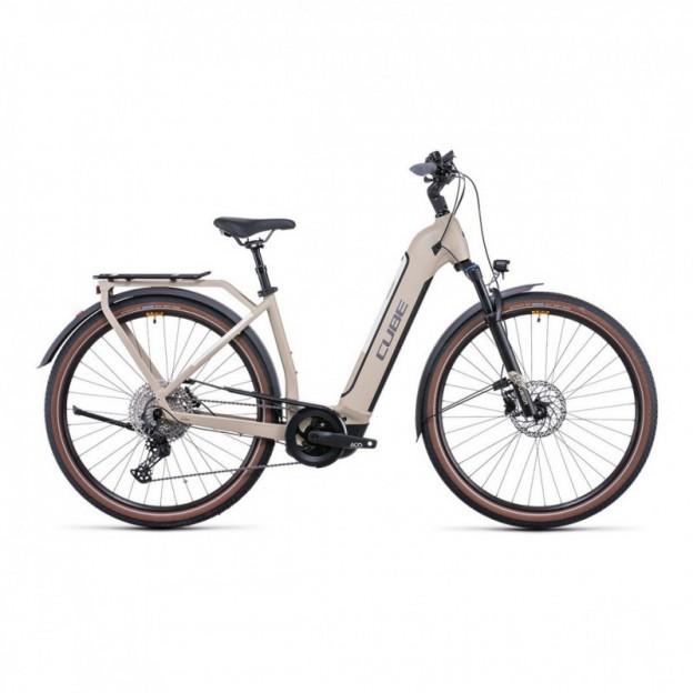 Vélo Electrique Cube Kathmandu Hybrid Pro 625 Trapèze Noir/Bleu 2021