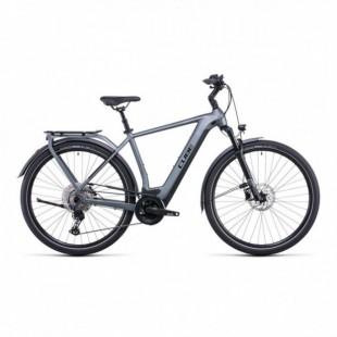 Vélo Electrique Cube Touring Hybrid Pro 625 Trapèze Gris/Orange 2021