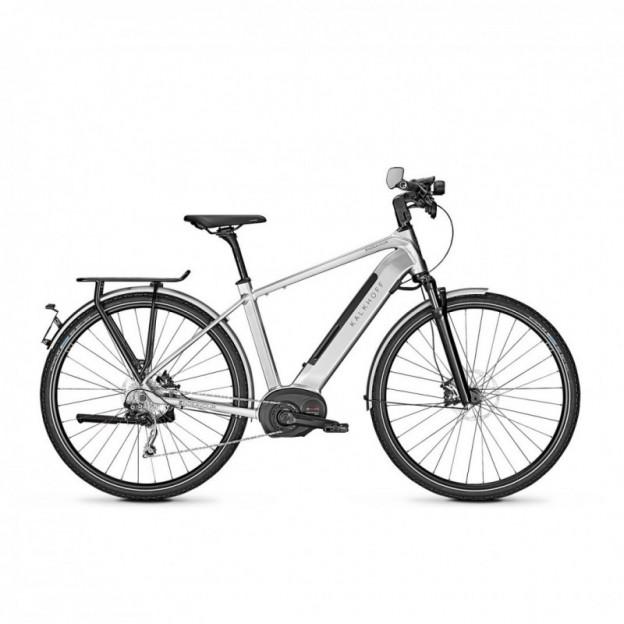 Vélo Electrique Cube Compact Sport Hybrid 500 Blanc/Noir 2021 (489150)