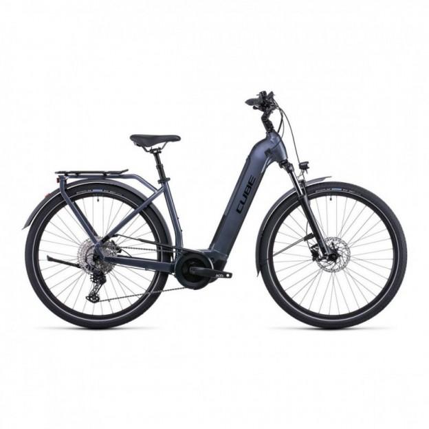Vélo Electrique Cube Touring Hybrid Pro 500 Trapèze Noir/Blanc 2021