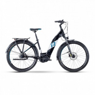 Vélo Electrique Cube Kathmandu Hybrid One 500 Trapèze Bleu/Rouge 2021