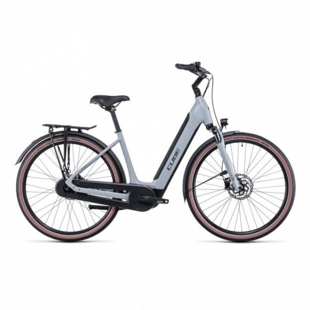 Vélo Electrique Cube Kathmandu Hybrid One 625 Trapèze Bleu/Rouge 2021