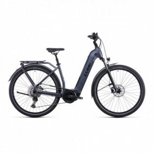 Vélo Electrique Cube Touring Hybrid EXC 625 Trapèze Rouge/Gris 2021