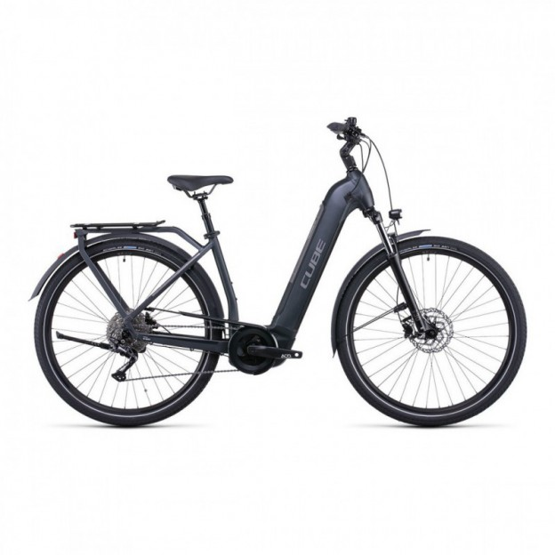 Vélo Electrique Winora Sinus i9 500 Trapèze Titane 2020