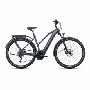 "VTT Electrique 29"" Cube Reaction Hybrid Pro 625 Pétrole/Orange 2021"