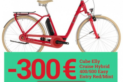 Les superbes Cube Elly Cruise RED en promo !
