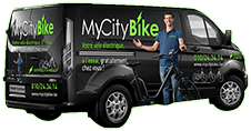 MyCityBike's truck